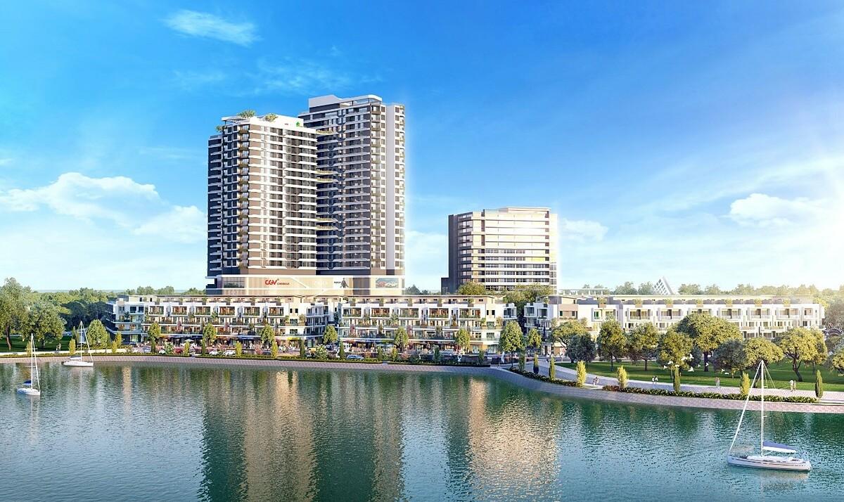 Hacom Mall tiên phong kiến tạo chuẩn sống mới cho cư dân thượng lưu tại Ninh Thuận. Ảnh phối cảnh: Thành Đông Ninh Thuận.