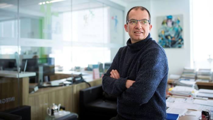CEO hãng dược phẩm Moderna Therapeutics Stephane Bancel. Ảnh: FT