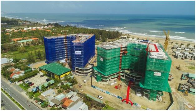 Công trường xây dựng dự án Shantira Beach Resort & Spa