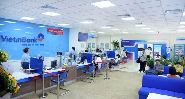 Một phòng giao dịch VietinBank.