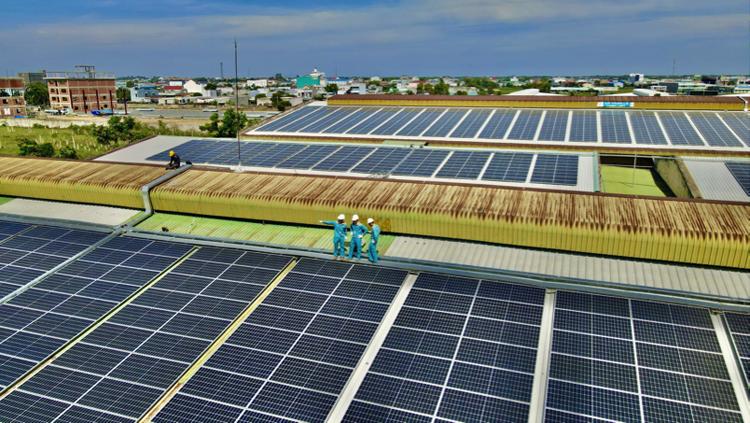 Dự án điện mặt trời quy mô 10MWp của Dệt Đông Quang.