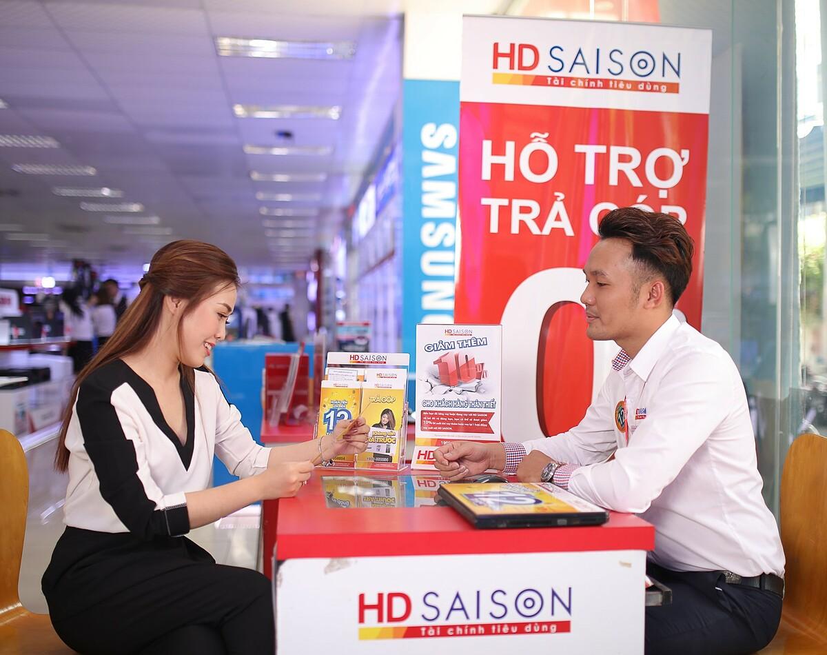 Thông tin chi tiết, truy cập webiste www.hdsaison.com.vn, liên hệ tổng đài 1900558854 hoặc đến các điểm giới thiệu để được nhân viên HD Saison tư vấn miễn phí.