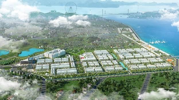 Phối cảnh dự án FLC Tropical City tại Hạ Long.