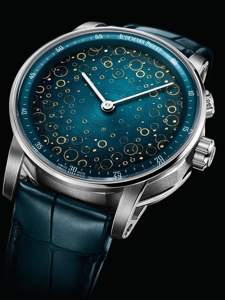 Chiếc đồng hồ CODE 11.59 Grande Sonnerie Carillon Supersonnerie