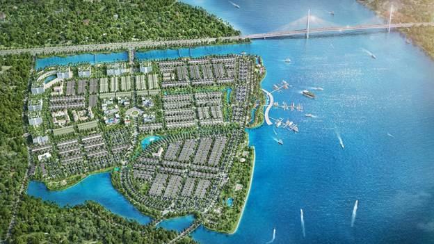 Quy hoạch của King Bay đã đạt giải Khu đô thị ven sông xuất sắc 2018 của Dot Property Award.