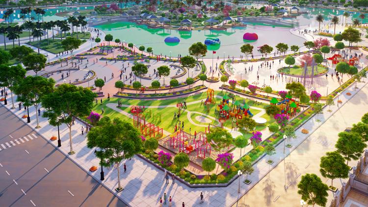 Nhiều dự án xanh được triển khai tại thị trường miền Tây.