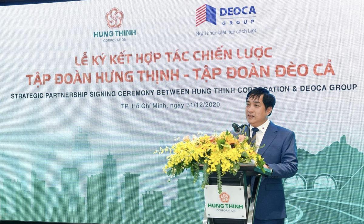 Ông Hồ Minh Hoàng – Chủ tịch Tập đoàn Đèo Cả.