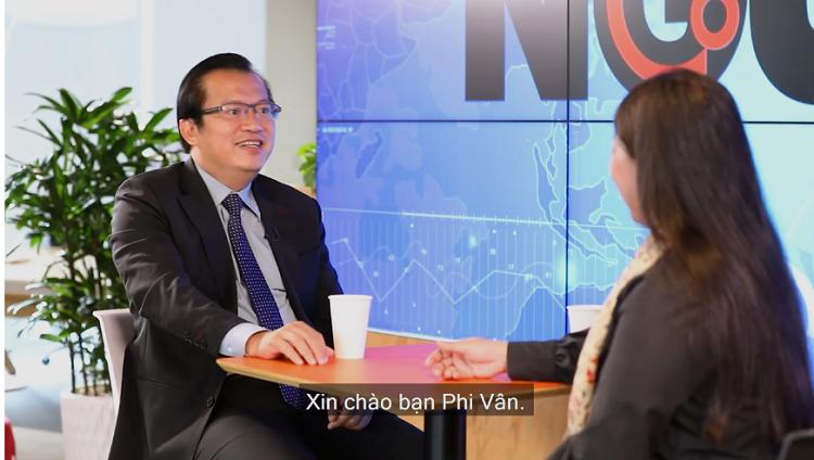 Ông Nguyễn Tuấn Quỳnh, Chủ tịch Saigon Books trong talk Nguy - Cơ 17.