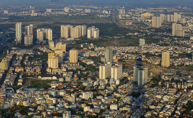 Thị trường nhà ở phía Đông TP HCM. Ảnh: Quỳnh Trần.