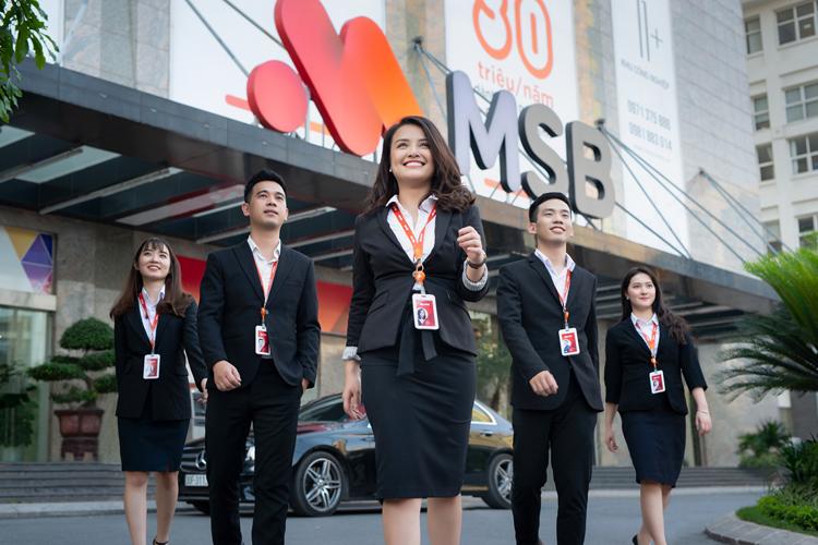 Đội ngũ nhân sự của MSB.