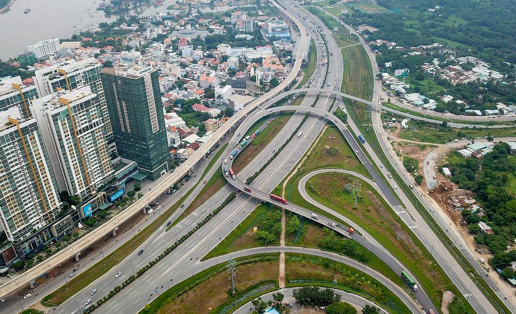 Thành phố Thủ Đức được định vị là khu đô thị sáng tạo sáp nhập từ ba quận: quận 2, quận 9 và quận Thủ Đức. Ảnh:Quỳnh Trần.