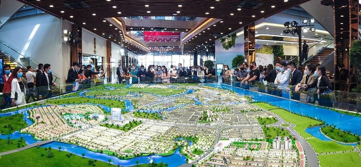 Đô thị đảo Phượng Hoàng trở thành đích ngắm mới của giới đầu tư và an cư. Ảnh: Novaland.