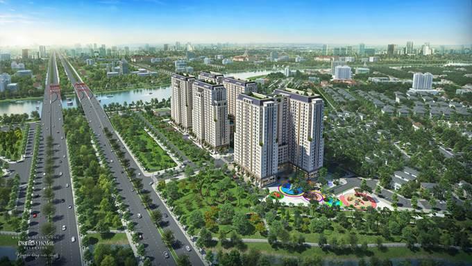 Dream Home Riverside là một trong những dự án sở hữu vị trí đẹp và tiện ích ngoại khu hiện đại.
