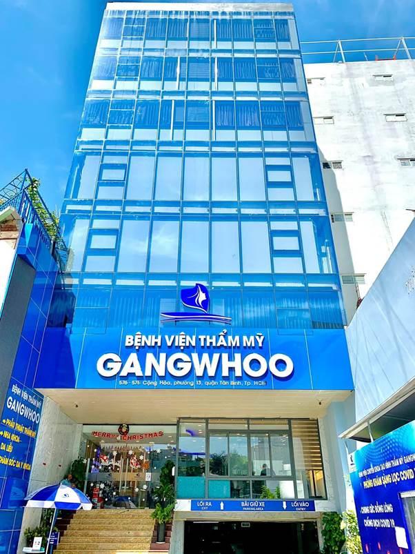 Bệnh viện thẩm mỹ Gangwhoo – 576-578 Cộng Hòa, phường 13, quận Tân Bình, TP HCM