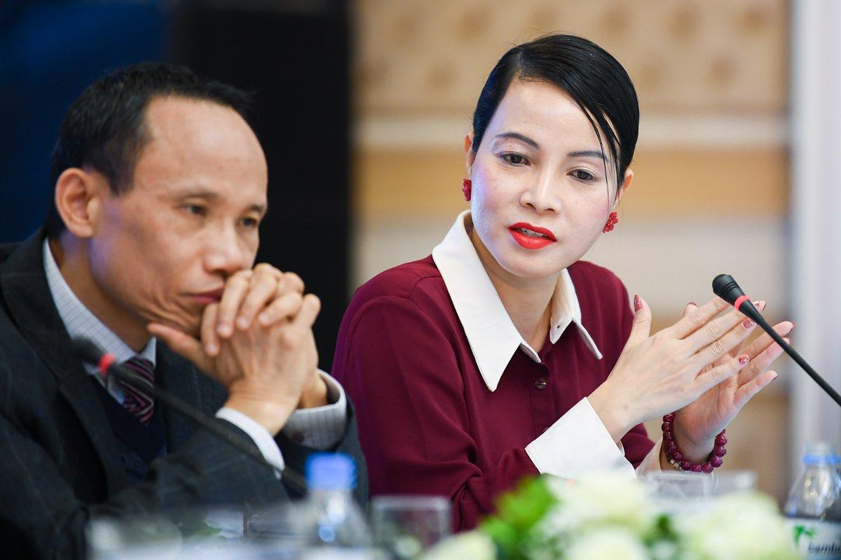 bà Bùi Kim Thuỳ - Chuyên gia kinh tế, Trưởng đại diện Hội đồng Kinh doanh Hoa Kỳ - ASEAN, thành viên hội đồng cố vấn Havard