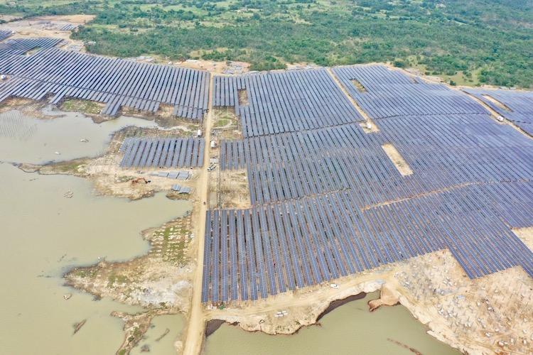 Nhà máy điện mặt trời Thiên Tân 1.2 có công suất 100 MWp hòa lưới điện quốc gia vào ngày 31/12/2020