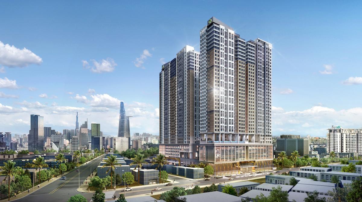 Phối cảnh dự án The Grand Manhattan.