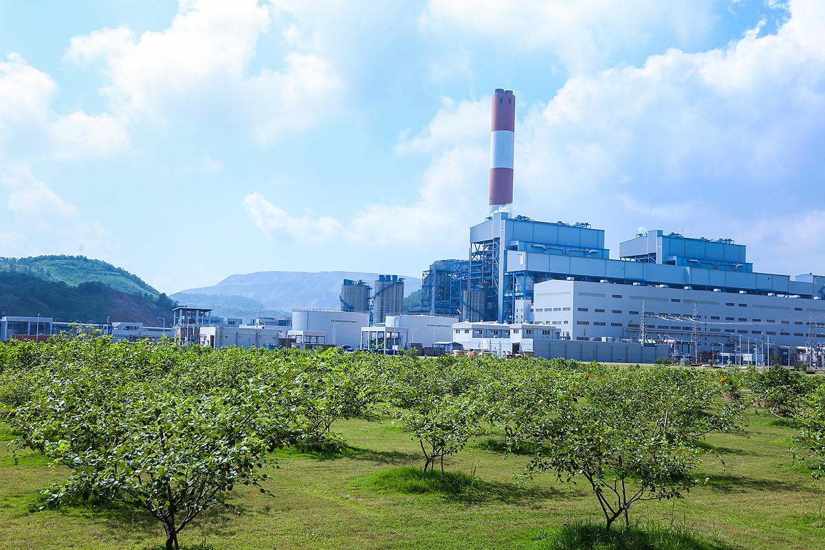 Nhà máy nhiện điện Mông Dương 2. Ảnh: AES.