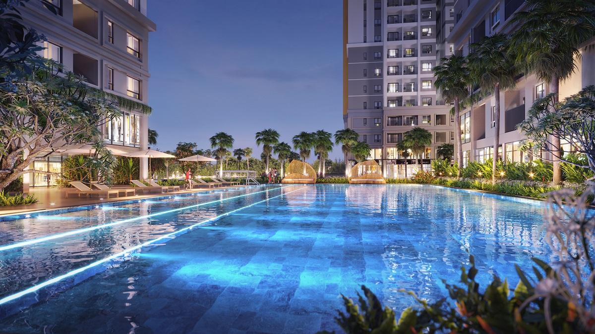 Cư dân Biên Hòa, Đồng Nai đang cần một nơi ở với tiện ích chất lượng và tiện nghi hiện đại nhằm nâng cao chất lượng sống. Ảnh phối cảnh dự án Bien Hoa Universe Complex.