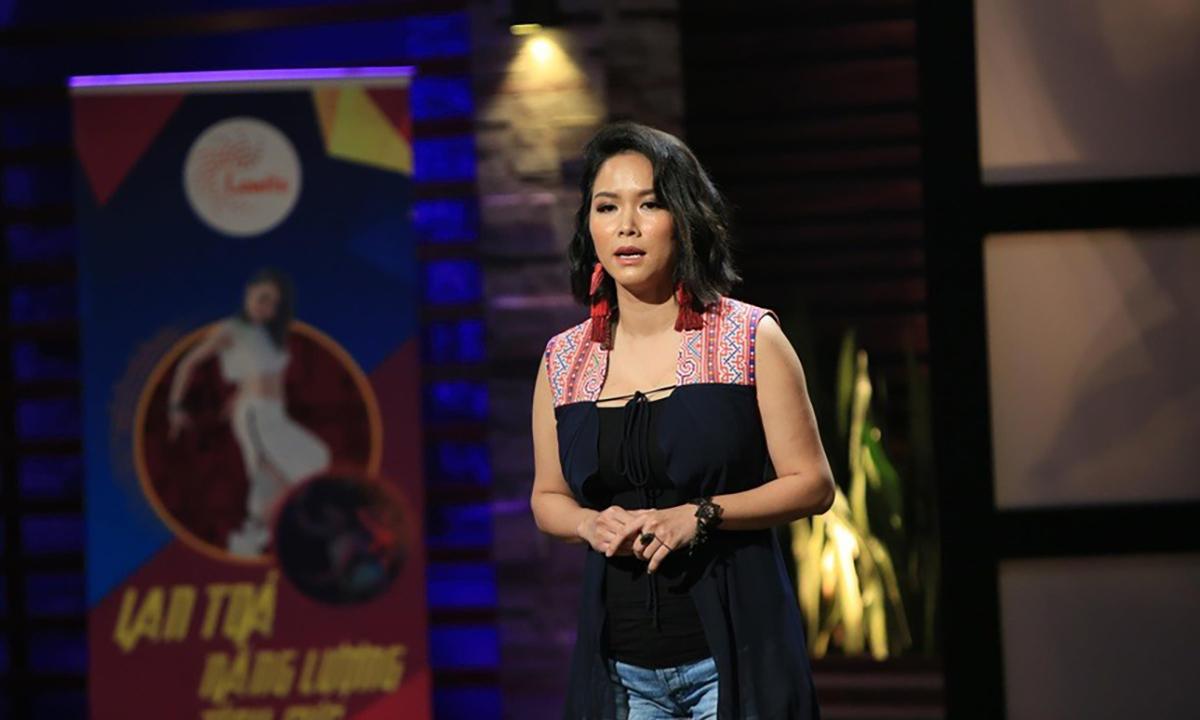 CEO Vũ Thùy Linh trong lần đi gọi vốn cho Lamita năm 2019. Ảnh: STVN