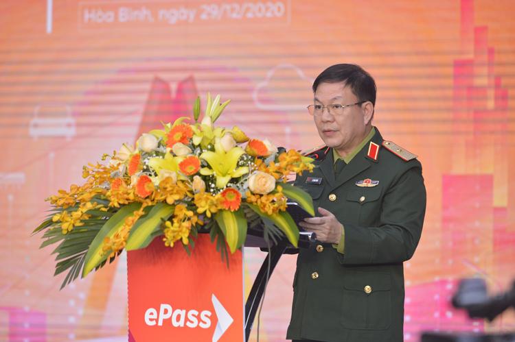 Ông Lê Đăng Dũng, quyền Chủ tịch kiêm Tổng giám đốc Viettel tại sự kiện.