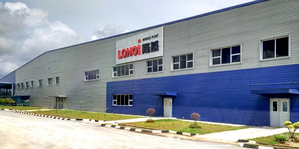 Nhà máy của LONGi tại Malaysia.
