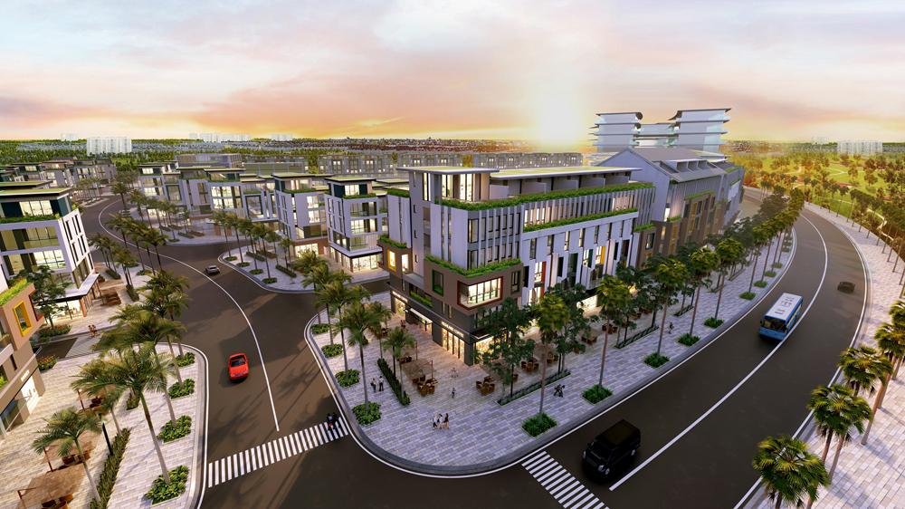 Bức tranh đô thị Phú Quốc sẽ có diện mạo mới (ảnh 3D dự án Meyhomes Capital Phú Quốc)