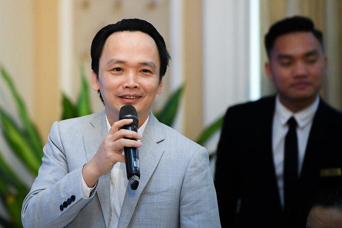 Ông Trịnh Văn Quyết, Chủ tịch HĐQT Tập đoàn FLC. Ảnh:Tuấn Cao.