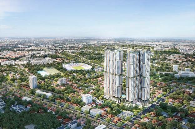 Dự án Happy One – Central là một trong những dự án cao nhất tại TP Thủ Dầu Một.