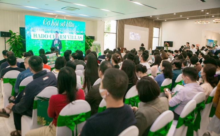 Các sự kiện giới thiệu dự án luôn nhận được sự quan tâm rất lớn của khách hàng