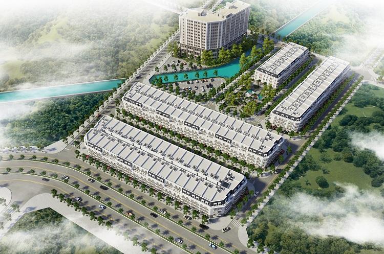 Phối cảnh dự án Korea Town Bắc Ninh.