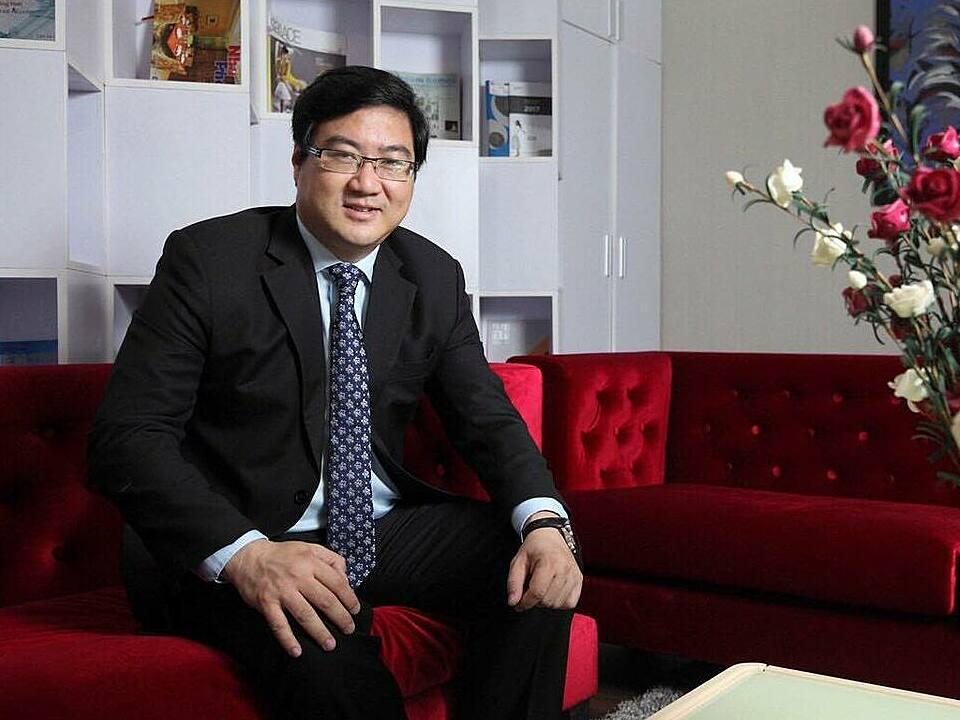 Nguyễn Thu Phong, Nhà sáng lập, Chủ tịch Hội đồng quản trị ,Tổng giám đốc Nhà Vui. Ảnh: Nhân vật cung cấp.