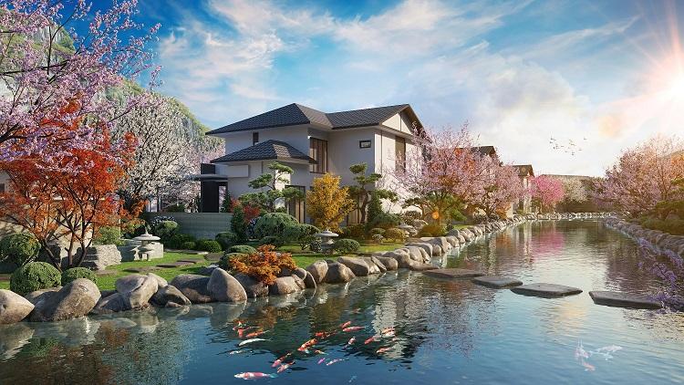 Phối cảnh biệt thự Sun Onsen Village Limited Edition