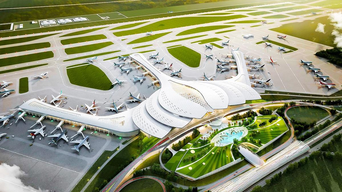 Dự án sân bay quốc tế Long Thành giai đoạn 1 với công suất 25 triệu hành khách khởi công ngày 5/1, dự kiến hoàn thành vào năm 2025.