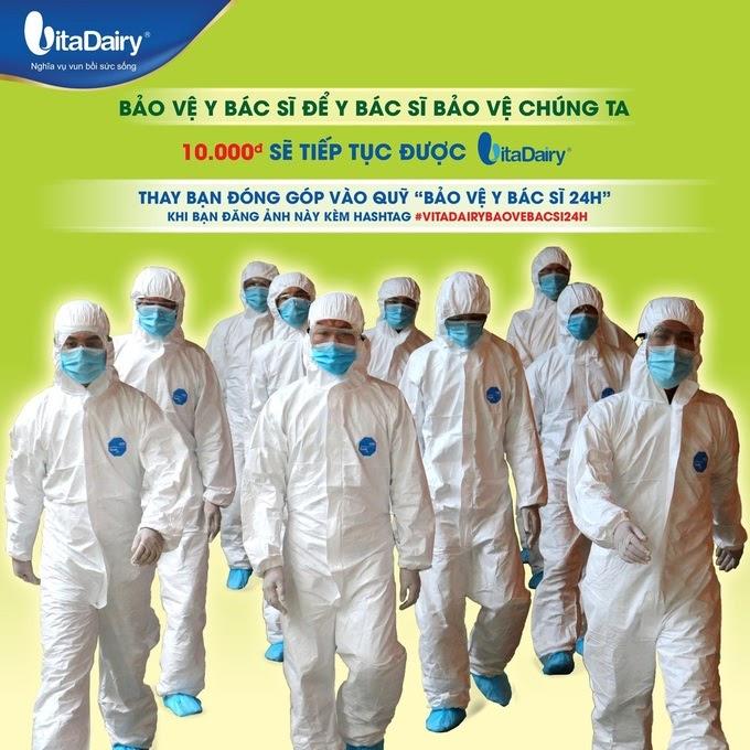 Chiến dịch Bảo vệ bác sĩ 24h lan tỏa thông điệp Bảo vệ bác sĩ để y bác sĩ bảo vệ chúng ta.