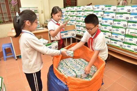 Trong chưa đầy 2 tháng triển khai, cuộc thi đã thu gom được 125 tấn vỏ hộp giấy