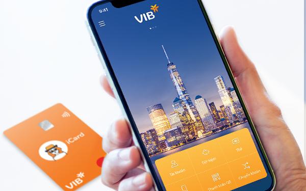 Giao diện ứng dụng MyVIB.