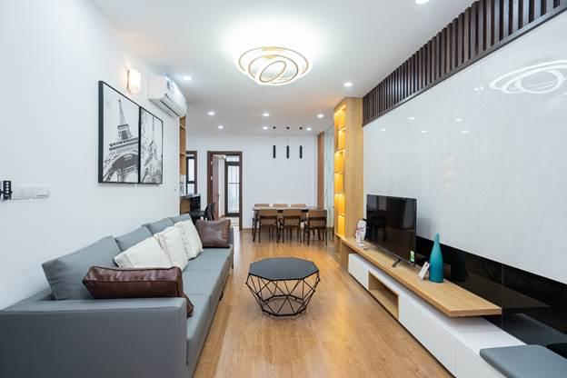 Thiết kế tối ưu trong căn hộ Phú Thịnh Green Park