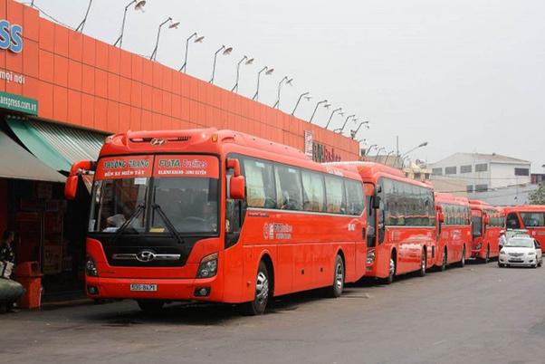 Tập đoàn Phương Trang đang vận hành hơn 60 tuyến vận tải hành khách liên tỉnh cố định trải dài từ Nam ra Bắc. Ảnh: Phương Trang Group.