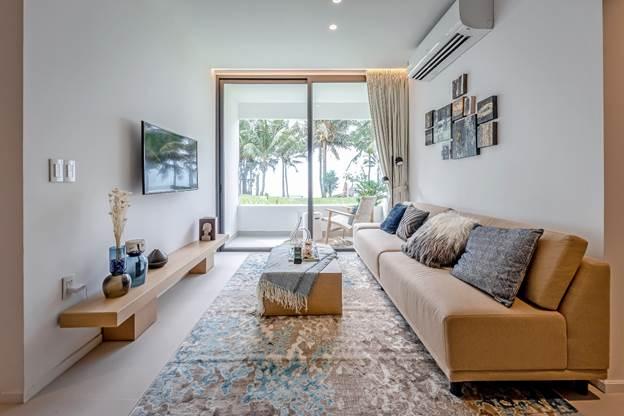 Thiết kế một căn hộ biển Wyndham Coast.
