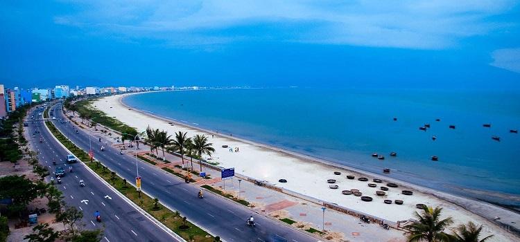 Con đường ven biển Đà Nẵng.