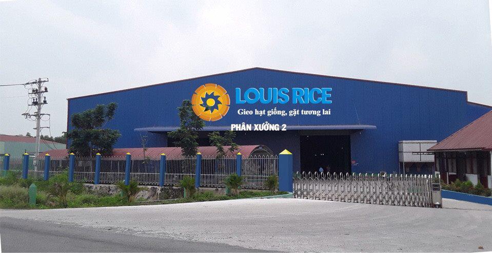 Nhà máy Louis Rice tại Long An.