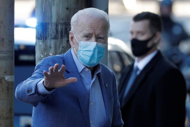 Tổng thống đắc cử Mỹ Joe Biden trong một sự kiện ở Delaware ngày 10/1. Ảnh: Reuters