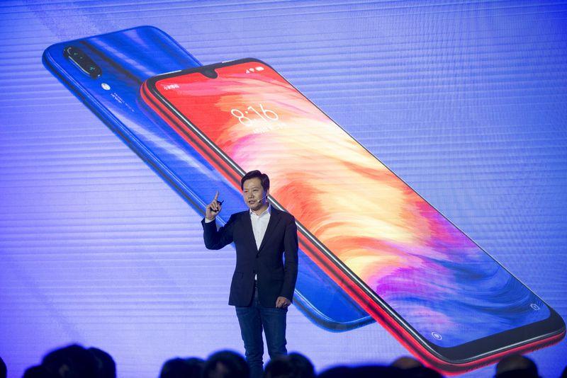 Lei Jun - CEO kiêm đồng sáng lập hãng thiết bị điện tử Xiaomi. Ảnh: Bloomberg