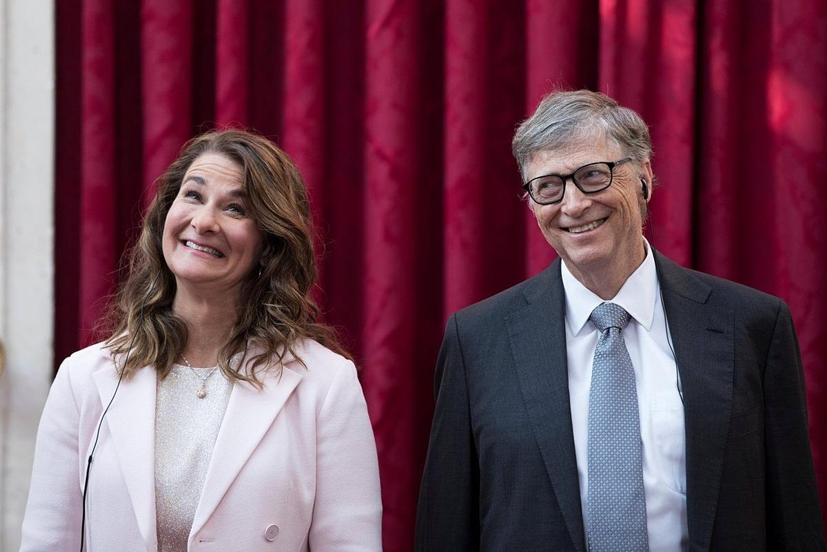 Vợ chồng tỷ phú Bill Gates. Ảnh: Reuters.