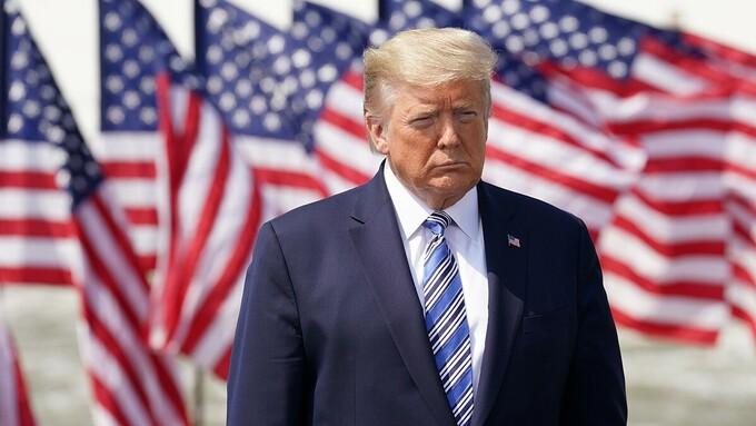 Tổng thống Trump ở Virginia vào tháng 3 năm 2020.  Ảnh: Reuters
