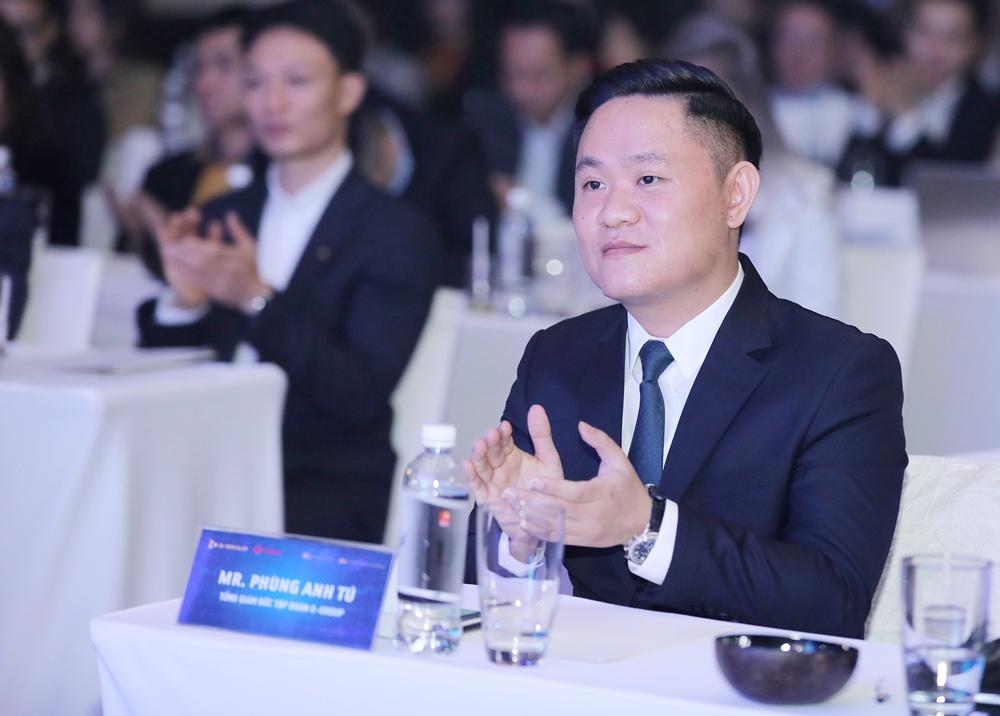 Ông Phùng Anh Tú, Tổng giám đốc G-Group tại sự kiện 19/1. Ảnh: G-Group.