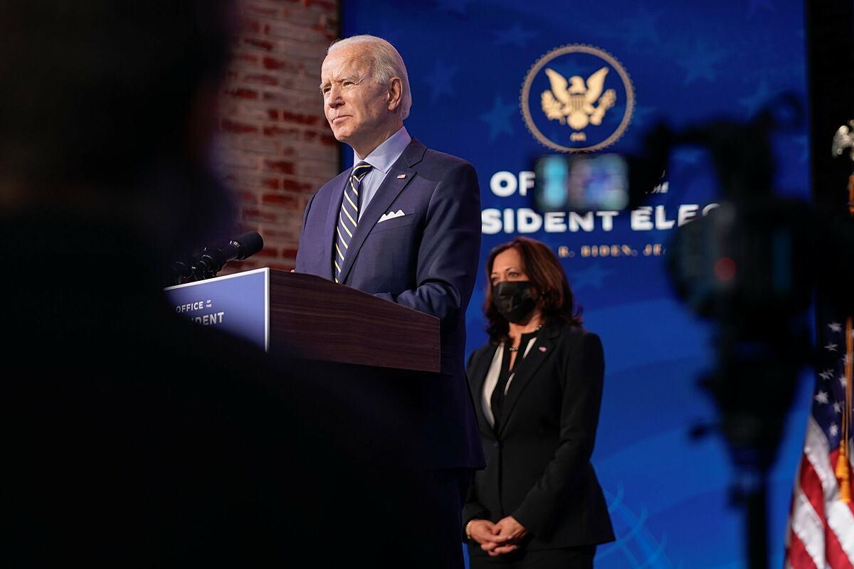 Tổng thống đắc cử Mỹ Joe Biden. Ảnh: New York Times
