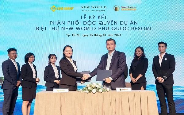 Lễ ký hợp tác giữa Sun Group và SmartRealtors.