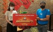Tiki trao giải thưởng 100 triệu đồng cho khách hàng